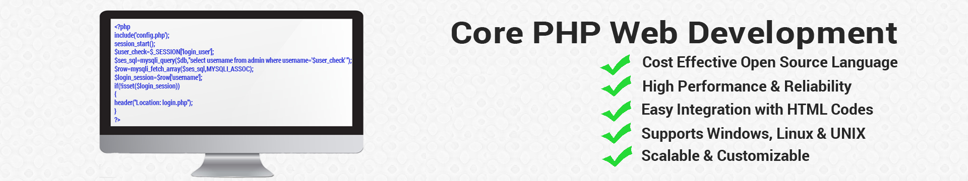Core PHP Web Development