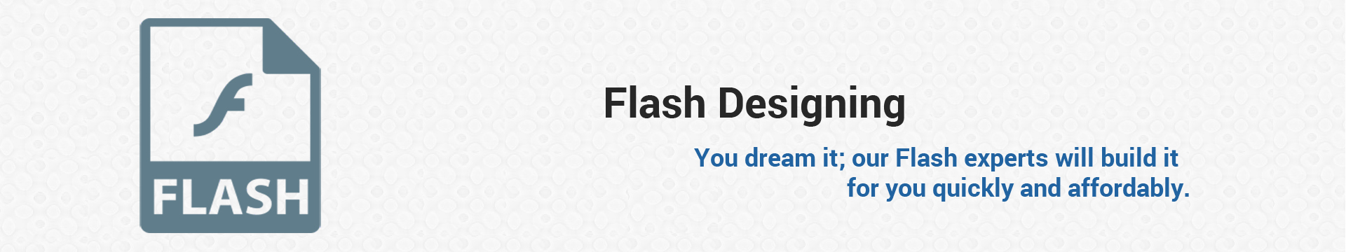 Flash Designing