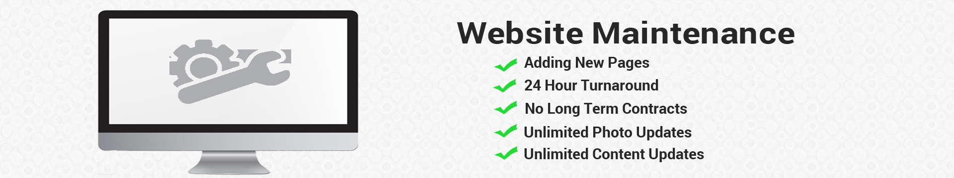 Website Maintenance Package