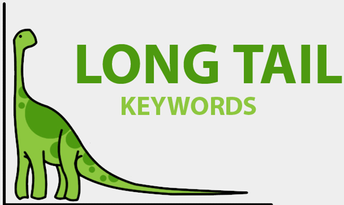 Long tail keywords is the secret to rank high on Google